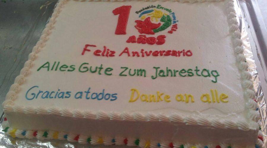 Zum 10. Geburtstag des Colegio des las Aguas