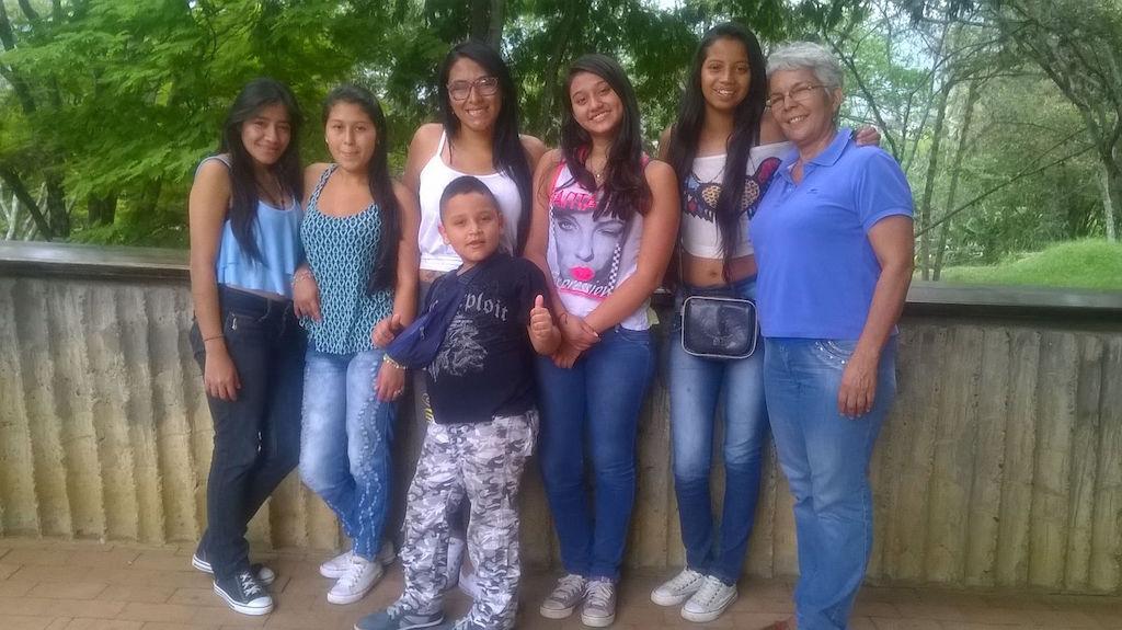Ehemaligentreffen im Colegio de las Aguas