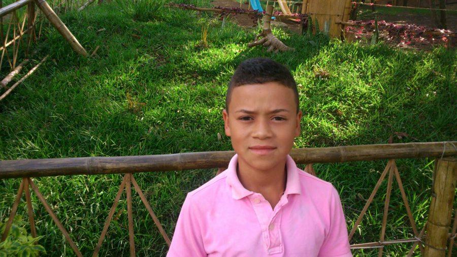 "Aaron Valencia, Schüler am Colegio de las Aguas Montebello<br /><em>""Meine Geschichte""</em>"