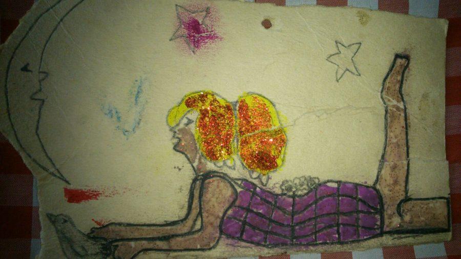 "Angie Gómez, Schülerin am Colegio de las Aguas Montebello<br /><em>""Meine Geschichte""</em>"