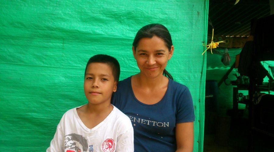 """Marlon Andrade, Schüler am Colegio de las Aguas <br /><em>""""Meine Geschichte""""</em>"""