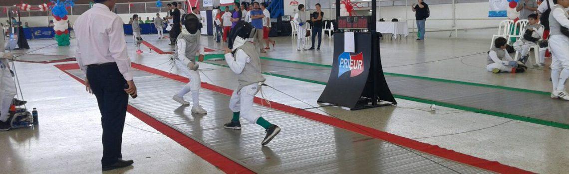 Fechtsport im Colegio de las Aguas