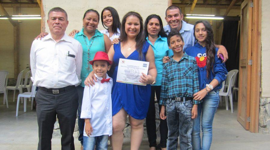 Abschlussfeier in den Talleres de las Aguas