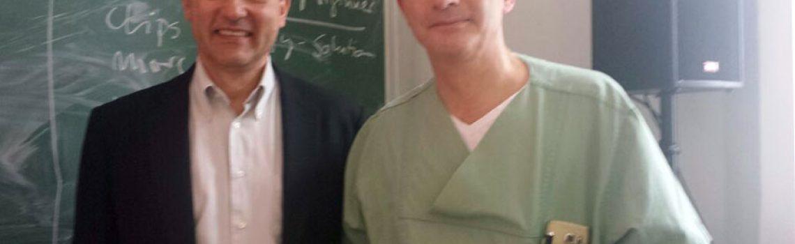 Dankesbrief von Dr. Veléz