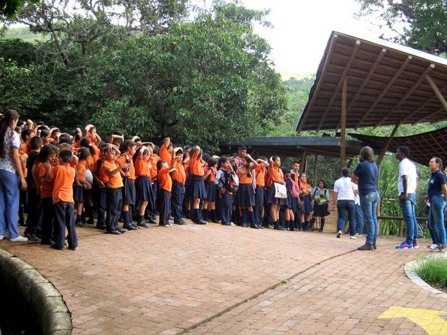 Notfallübung im Colegio de las Aguas