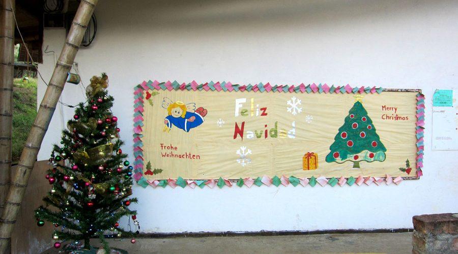 Nikolaus im Colegio de las Aguas