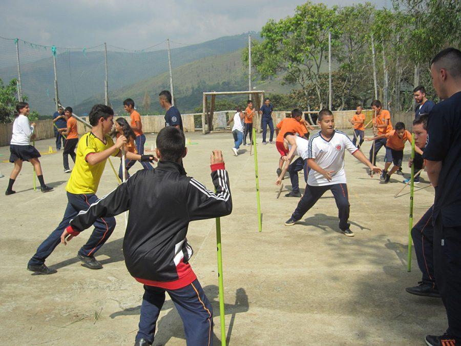 Praktikanten der Nationalen Sportschule