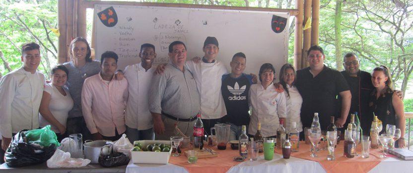 Cocktail-Workshop für die Lehrwerkstatt Gastronomie