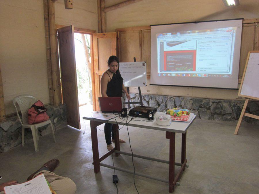 Abschlusspräsentation der Auszubildenden