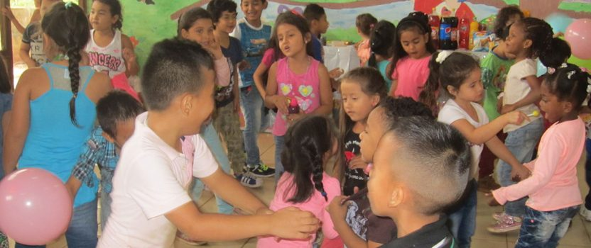 Das Colegio de las Aguas beginnt die Sommerferien