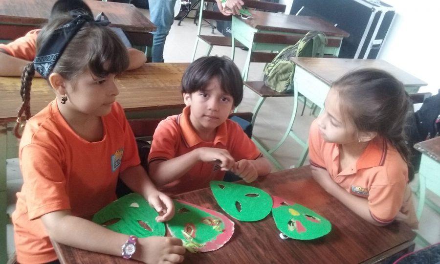 Kreative Workshops im Colegio de las Aguas