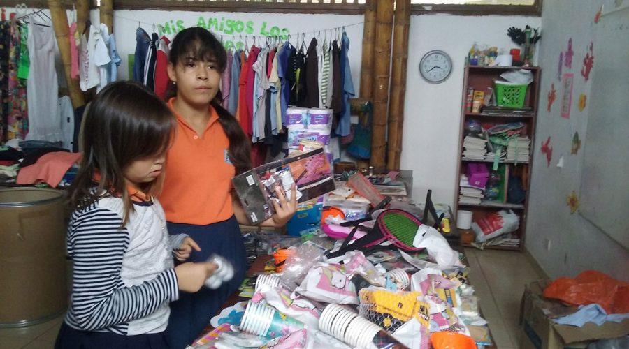 Flohmarkt im Colegio de las Aguas