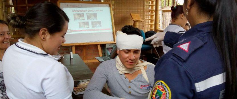 Fortbildung durch die Freiwillige Feuerwehr