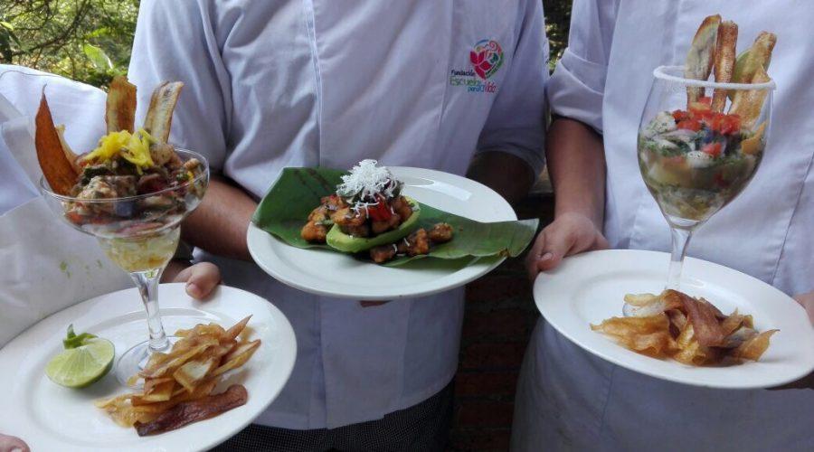 Ceviche in der Lehrwerkstatt Gastronomie