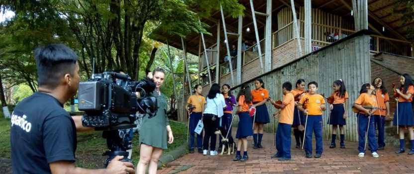 Unsere Partnerschule im Fernsehen