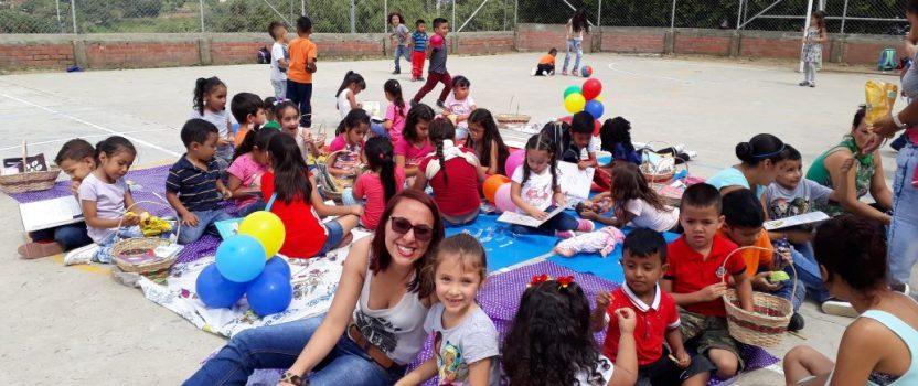 Eine Feier für die Kinder