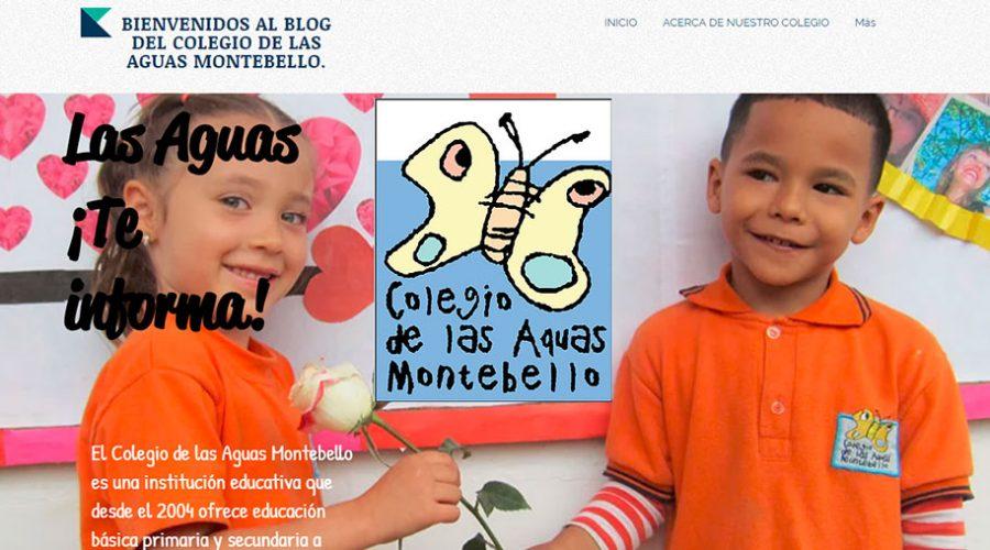 Eine Website der Schüler*innen