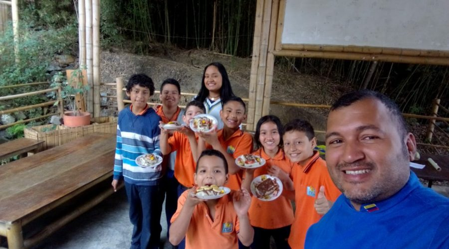 Gastronomie-Workshop in der 5. Klasse