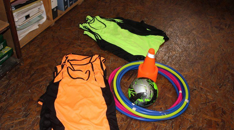 Neue Ausstattung für den Sportunterricht