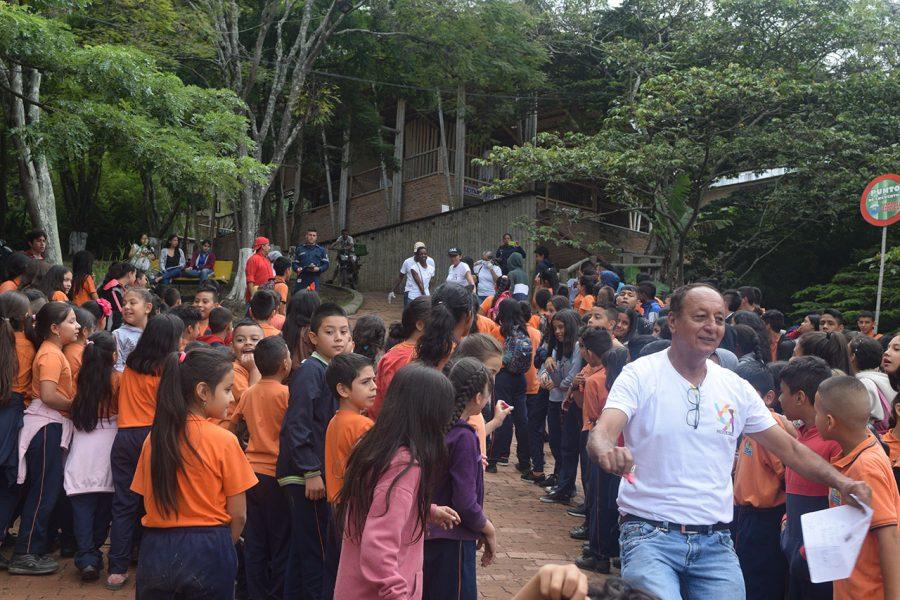 Notfallübungen im Colegio de las Aguas