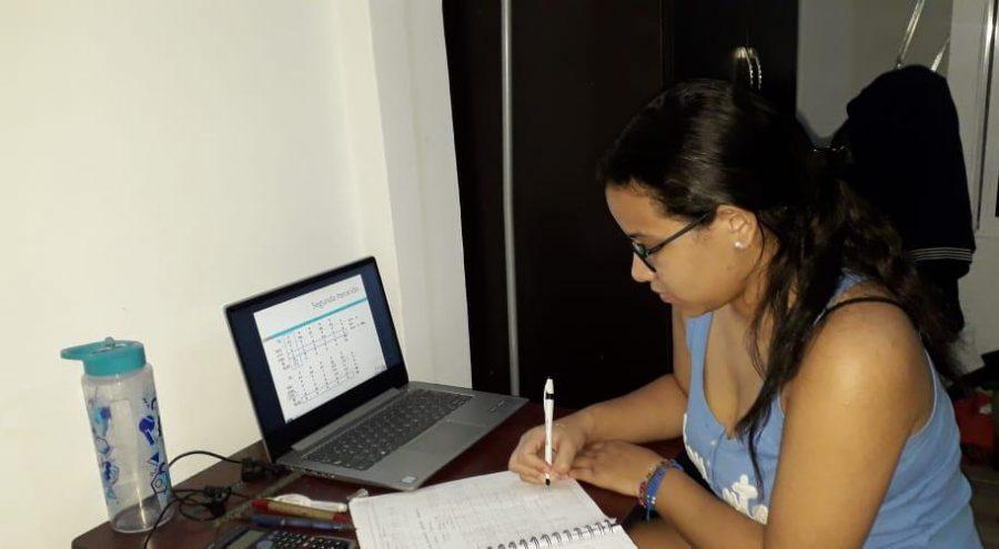 Virtueller Unterricht für unsere Stipendiaten