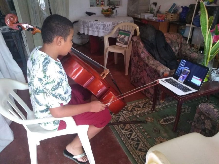 Das digitale Orchester in Sincé