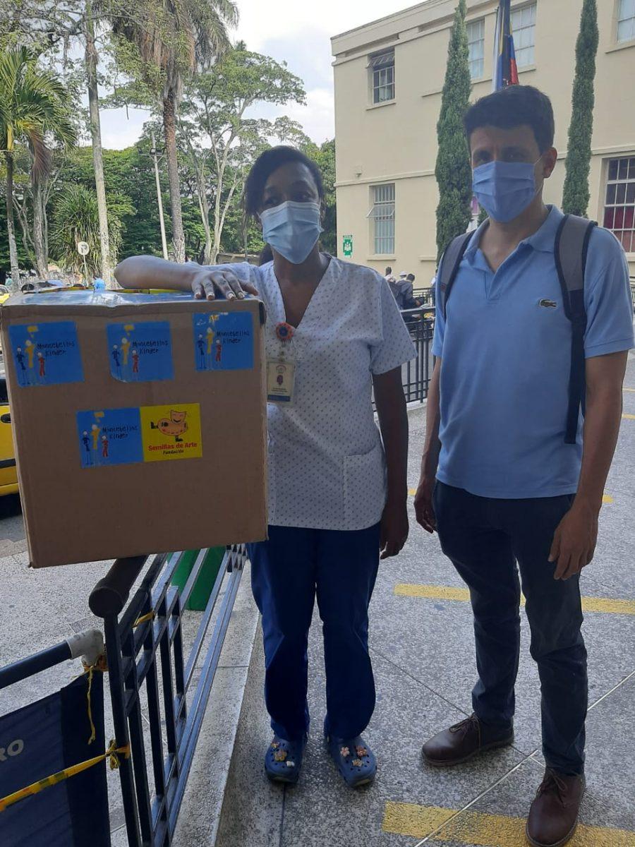 Maskenspende für unsere Gesundheitsprojekte
