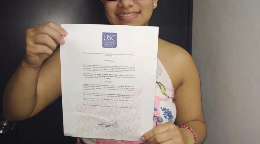 Eine Auszeichnung für Lisa<br /><em>Ein Beitrag von Lisa María Marín Rojas</em>