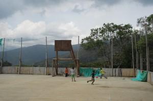 Sportplatz im Colegio de las Aguas